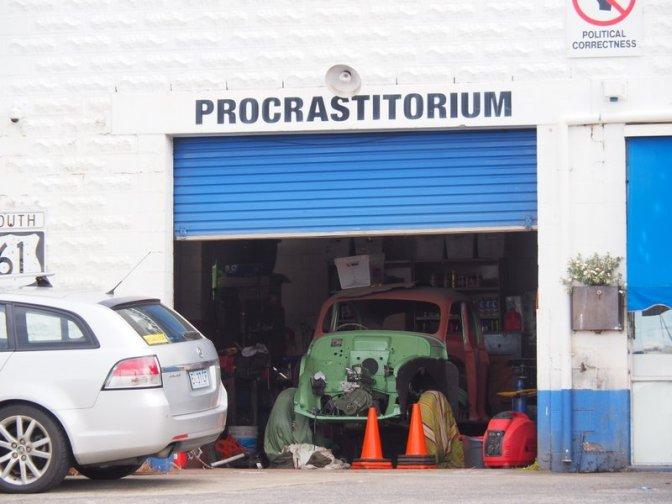 The Procrastitorium