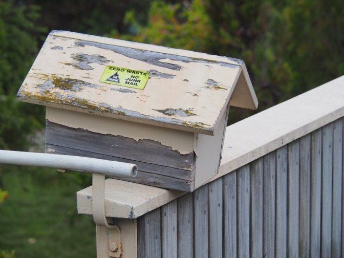 No Junk Mail, No Waste