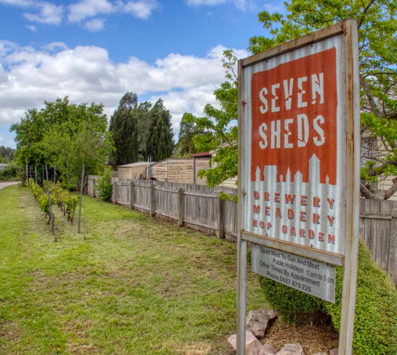 Seven Sheds Brewery and Meadery and Hop Garden