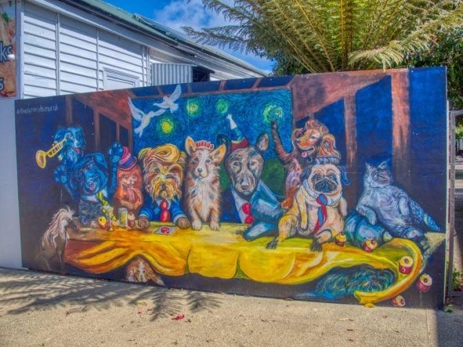 Dog Mural Sheffield