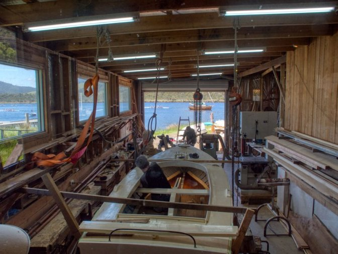 Traditional Boat Building